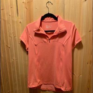 Bright pink 👚 3/4 zip (Fits size medium)